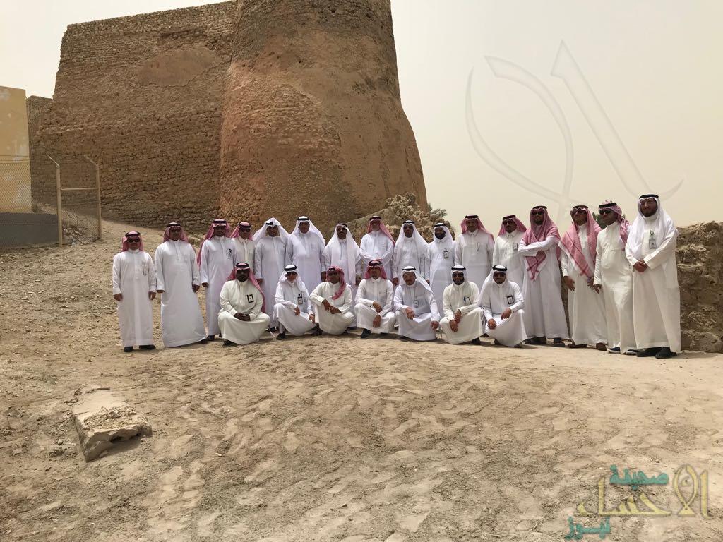 """بالصور… 16 مديرا لفروع """"السياحة"""" يختتمون زيارتهم لمعالم الشرقية"""