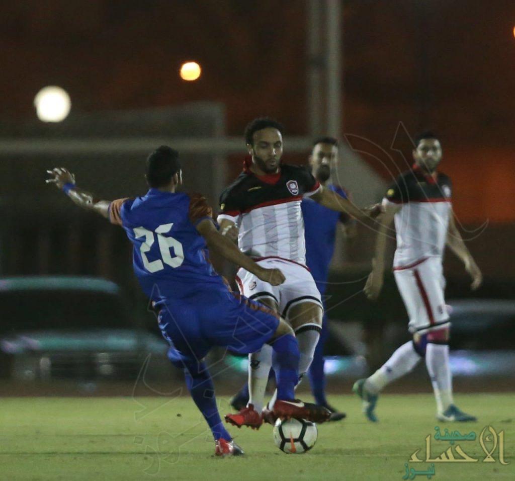 بالصور .. الرائد يُثبت أقدامه في الدوري السعودي للمحترفين