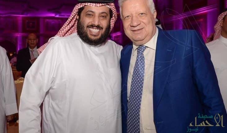 برئاسة مرتضى منصور.. منح تركي آل الشيخ الرئاسة الفخرية لنادي الزمالك