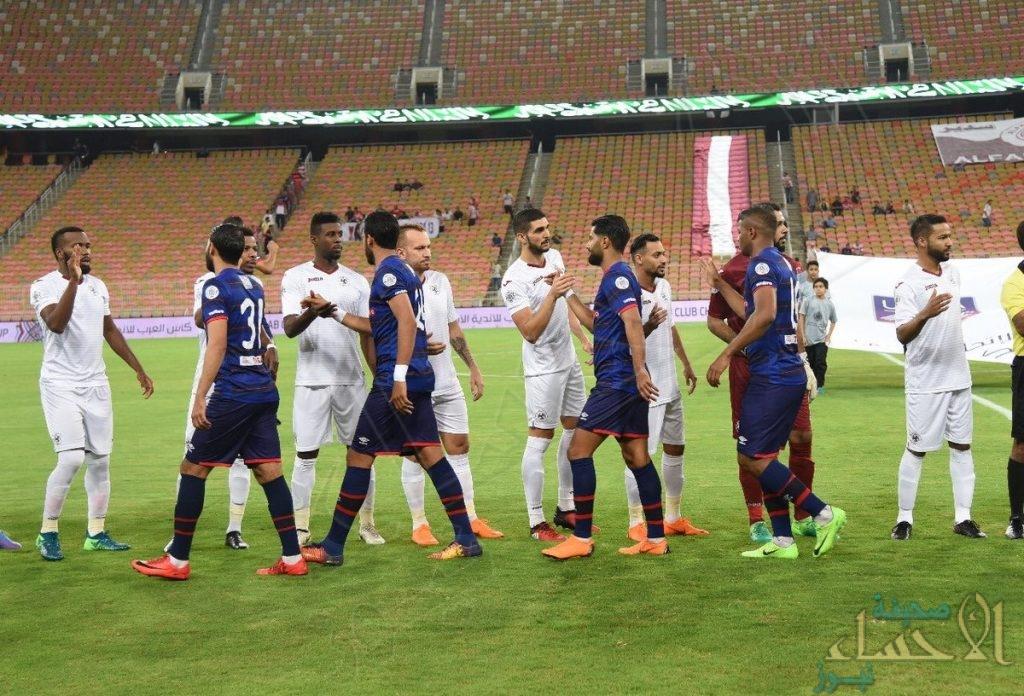 البطولة العربية: الفيصلي يرفض الخسارة ويتعادل مع الإفريقي التونسي