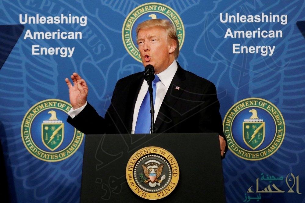 """صحيفة: """"ترامب"""" يخطط لانسحاب واشنطن من الاتفاق النووي الإيراني"""