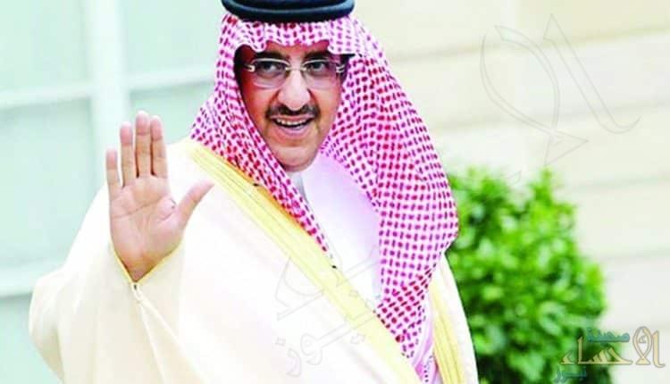 صورة.. الأمير محمد بن نايف يصلي في قصره برفقة زوج ابنته وحفيده