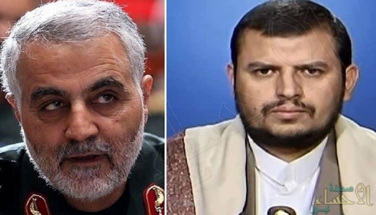 قاسم سليماني يشرف على خطة لتهريب عبدالملك الحوثي من صنعاء
