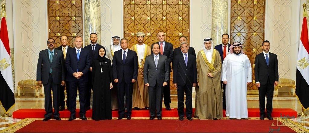 الرئيس المصري عبدالفتاح السيسي يستقبل تركي آل الشيخ