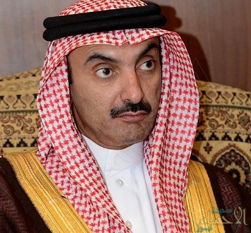"""""""الأمير عبدالعزيز بن جلوي"""" يشكر """"العجمي"""" بعد تبرعه السخي لـ""""قبس"""""""