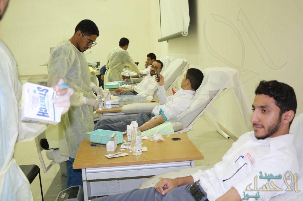 """بأكثر من ٢٠٠ متبرع.. حملة للتبرع بالدم تستهدف منسوبي """"المعهد الوطني NITI"""""""
