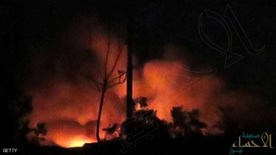 صواريخ إسرائيلية تستهدف مستودعات أسلحة لحزب الله بدمشق