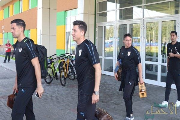 """لاعبو أوروجواي يتوجهون إلى """"روستوف"""" قبل مواجهة السعودية"""