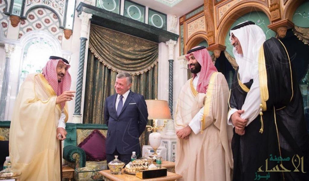 ملك الأردن: نقدر الموقف المشرف للأشقاء والمبادرة الطيبة للملك سلمان