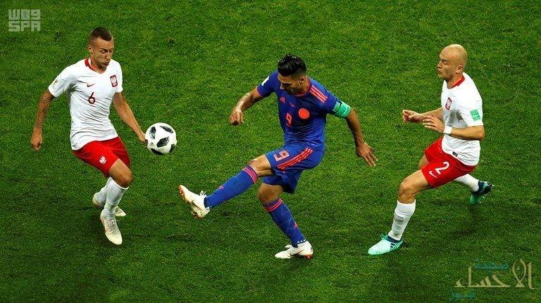 كولومبيا تتفوق على بولندا وتفوز بثلاثية نظيفة