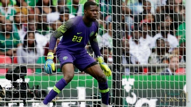 """حارس نيجيريا """"ثاني أصغر حارس في تاريخ البطولة"""" يكشف عن سعادته بخوض أول كأس عالم في مسيرته"""