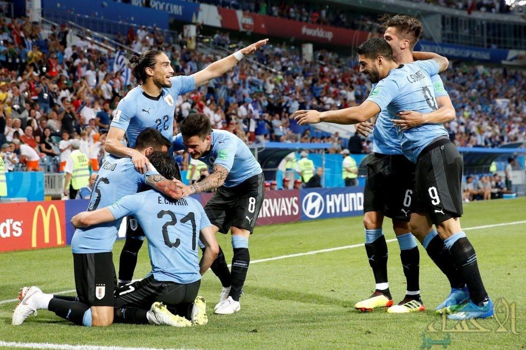 بالصور .. أوروغواي تفوز على البرتغال وتضرب موعداً مع فرنسا في ربع النهائي