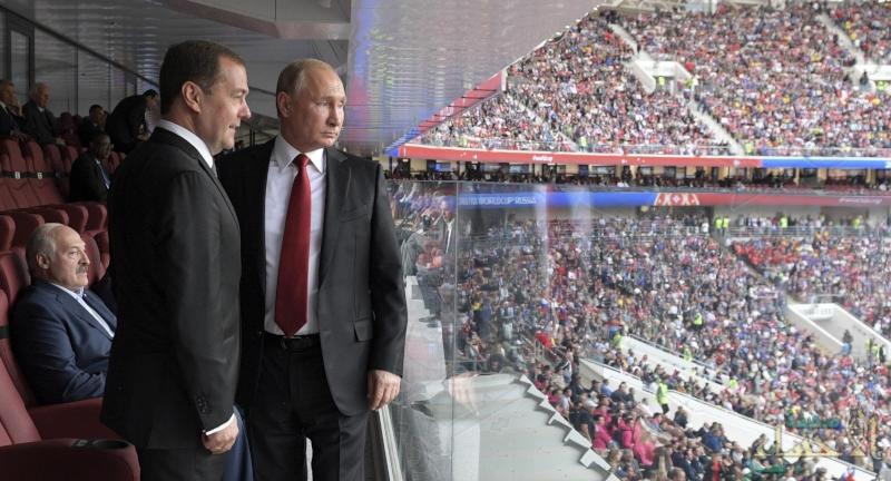 مهمة رسمية تحرم بوتين من حضور مباراة بلاده أمام مصر