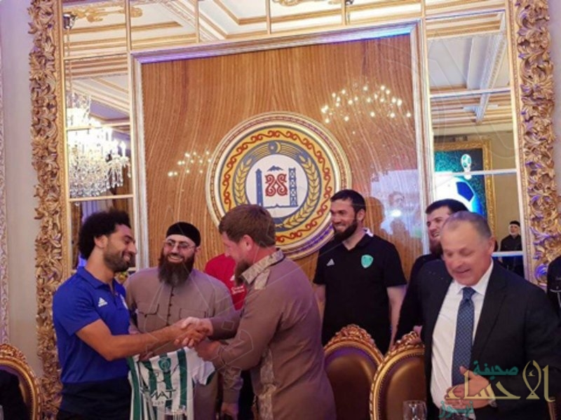 رئيس جمهورية الشيشان يمنح محمد صلاح حق المواطنة