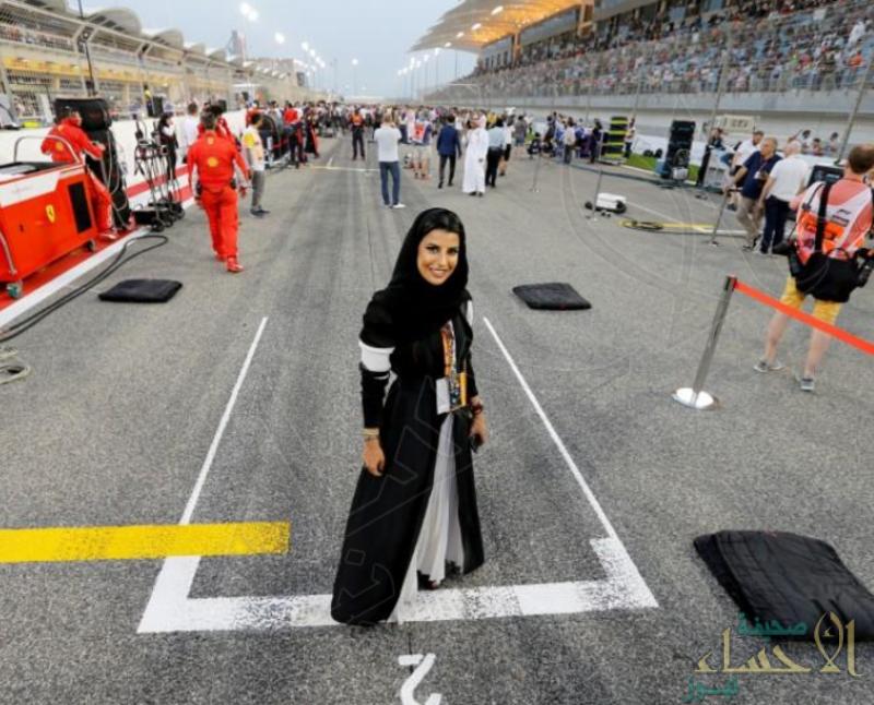أسيل الحمد أول سعودية تقود سيارة فورمولا1 .. وهذه قصتها !