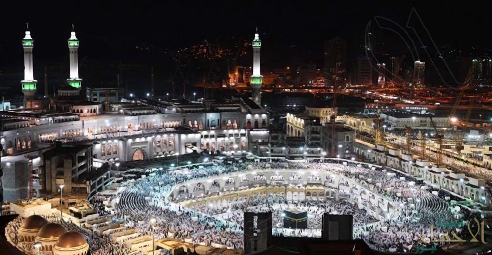 """""""السعودية للكهرباء"""": """"الحرم المكي"""" يُسجل حمل قياسي ليلة ٢٧ رمضان"""