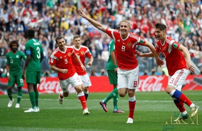 التلفزيون الألماني يتهم منتخب روسيا بتعاطي المنشطات قبل مباراة مصر