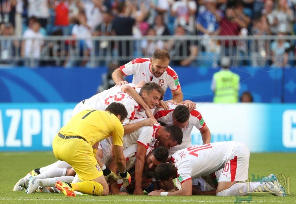 منتخب صربيا ينجح في تحقيق الفوز على كوستاريكا بهدف دون رد