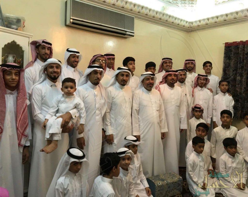 """بالصور… أسرة """"الشيخ صالح"""" تحتفل بعيد الفطر السعيد"""