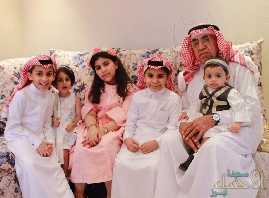 """بالصور .. أسرة """"الفصيل"""" تحتفل بعيد الفطر المبارك"""
