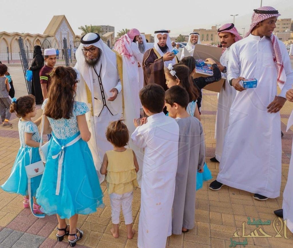 بالصور .. هيئة الشرقية تشارك الأهالي فرحتهم بعيد الفطر