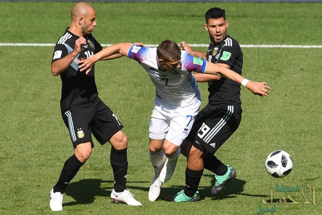 """بالصور .. الأرجنتين تفشل بعبور آيسلندا و """"ميسي"""" بهدر ركلة جزاء !"""