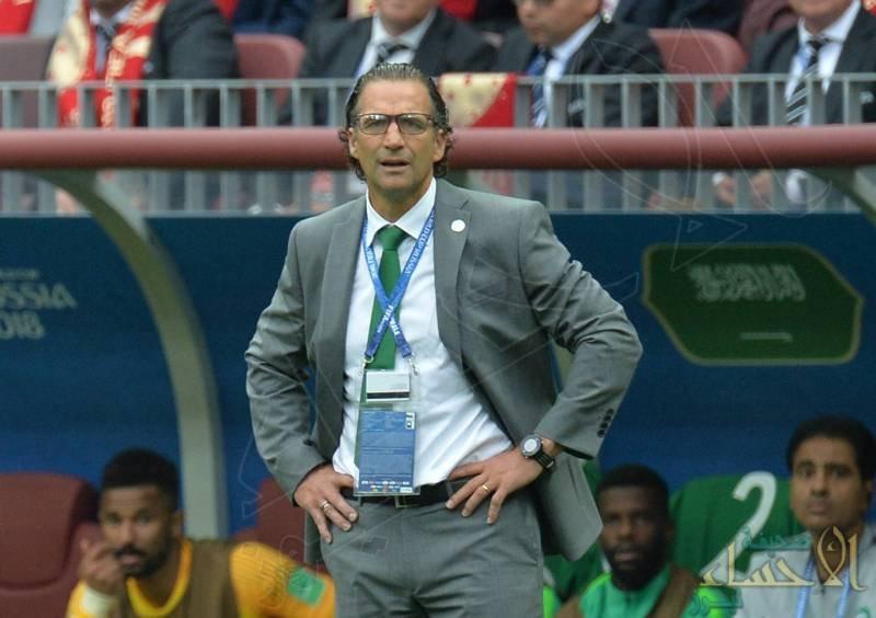 مدرب المنتخب السعودي بيتزي غاضبًا: روسيا فازت بأقل مجهود