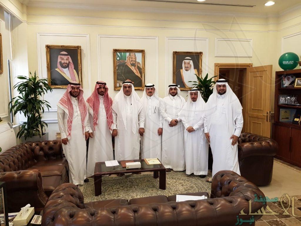 """أمين """"المنطقة الشرقية"""" يجتمع بوفد المجلس البلدي بـ""""عريعرة"""""""