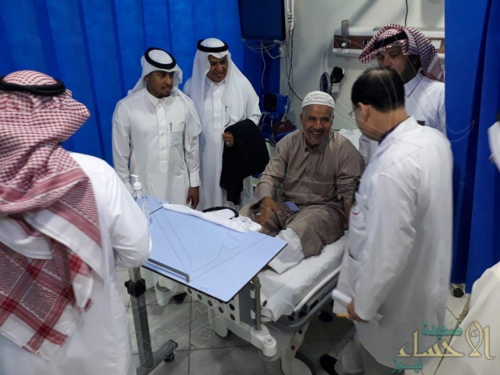 مستشفى مدينة العيون تعايد مرضاها بعيد الفطر المبارك