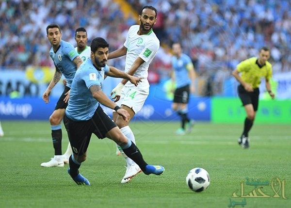 هدف سواريز يرسل الأخضر السعودي خارج المونديال
