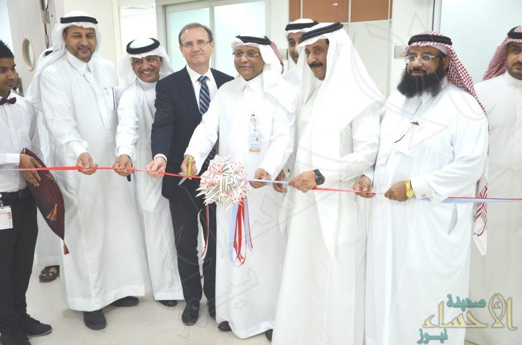 """بالصور..""""السلوك"""" يدشن مشروعين تطويريين بمركز """"الأمير سلطان"""" للقلب بالأحساء"""