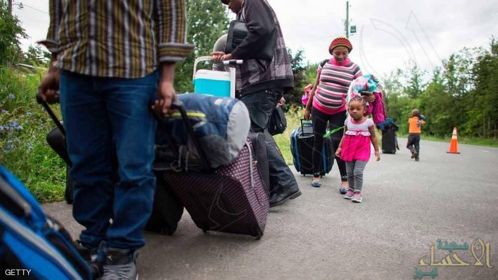 """""""تطور كبير"""" بتدفق المهاجرين من أميركا إلى كندا"""