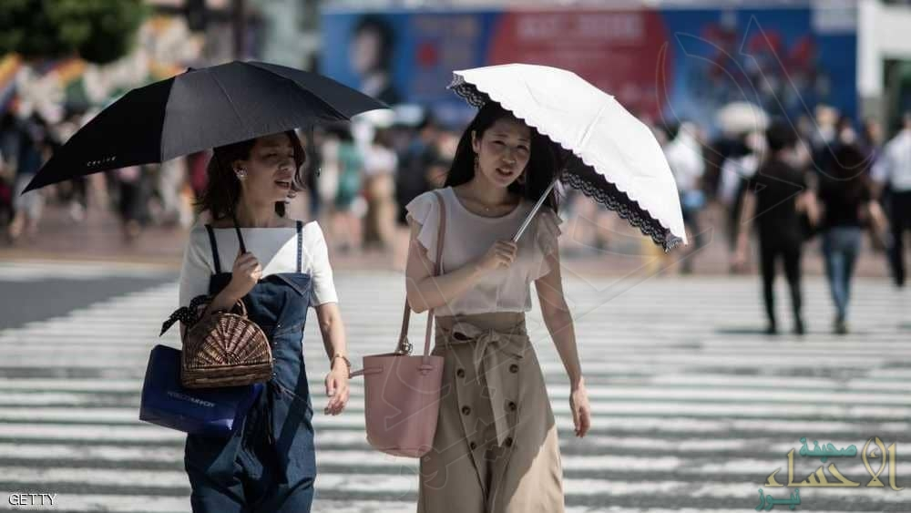 مقتل 80 ونقل الآف للعناية المركزة .. موجة حر قياسية تعيشها اليابان !!