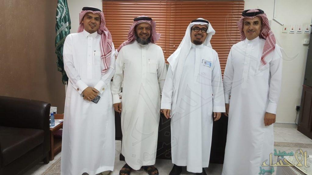 مدير إدارة التوجيه والارشاد في زيارة لمدرسة محاسن الثانوية للفصل الصيفي