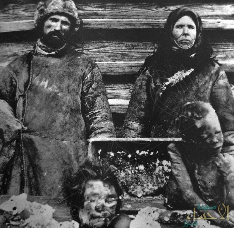 صورة مروعة.. يوم أكل الروس جثث أطفالهم وباعوها في الأسواق !!