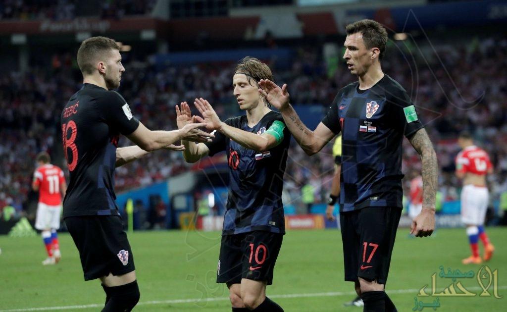بالصور .. كرواتيا تعبر مجدداً حلمها المزعج وتنهي مغامرة روسيا