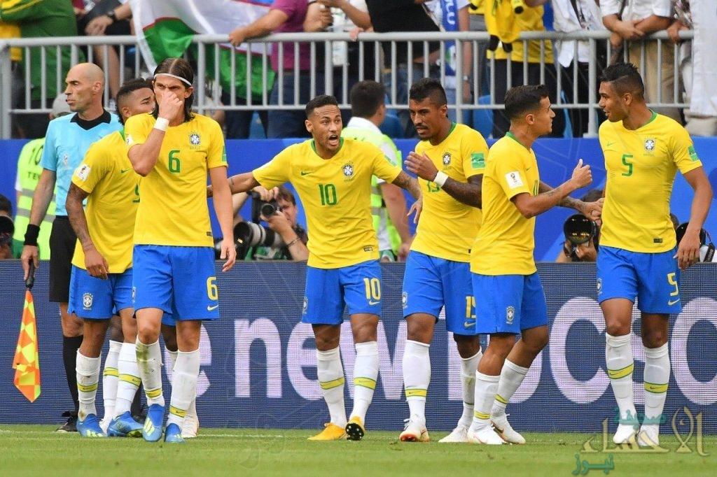 بالصور .. البرازيل تتأهل لدور ربع النهائي عقب فوزها على المكسيك بهدفين دون رد