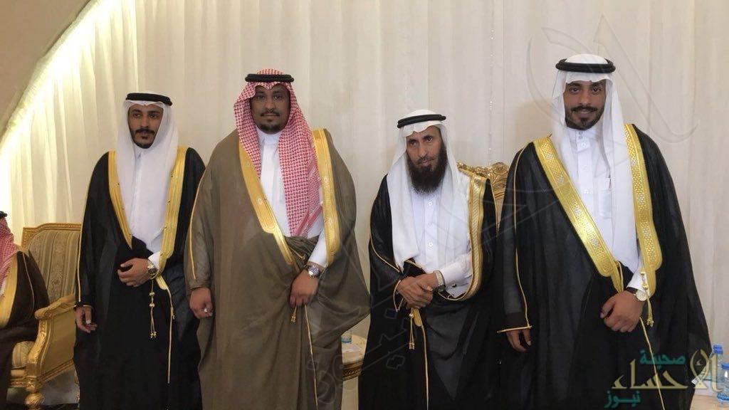 """""""الصعيقري الحربي"""" يحتفل بزفاف أبنائه """"محمد"""" و """"بدر"""""""