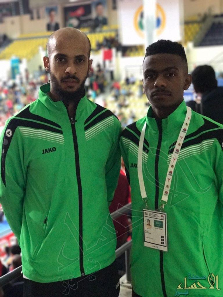 البشير والخثعمي ينافسون على الذهب في البطولة الآسيوية الـ 15  للكاراتيه بالأردن