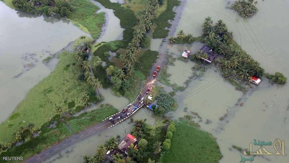 ارتفاع حصيلة قتلى فيضانات كيرلا ومخاوف من انتشار الأوبئة