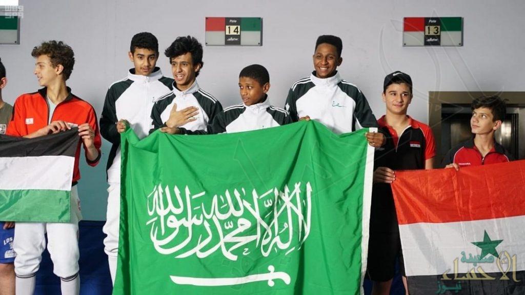أخضر المبارزة يختتم مشاركته في البطولة العربية بتحقيق 24 ميدالية