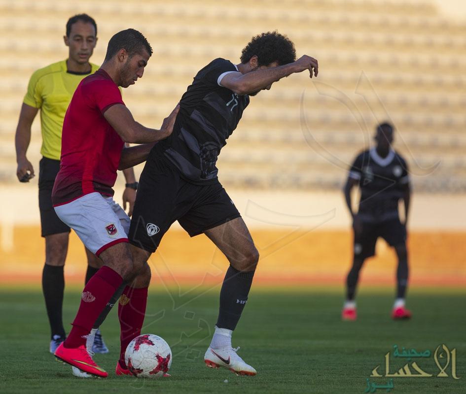 """بالصور.. """"هجر"""" يخسر ثالث ودياته أمام الأهلي المصري"""