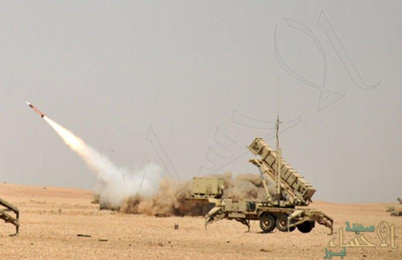 اعتراض صاروخ باليستي أطلقته ميليشيا الحوثي الإرهابية باتجاه جازان