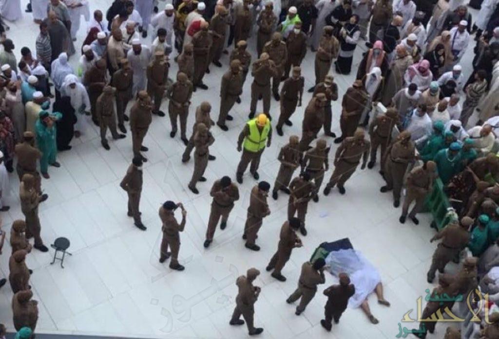 """رئاسة الحرمين تكشف هوية """"ملقي نفسه من سطح الحرم"""""""