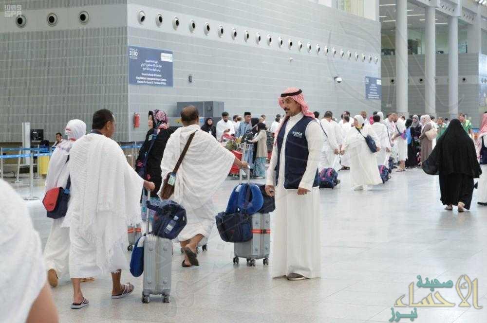 الجوازات: وصول 1.657.847 حاجاً إلى المملكة حتى يوم أمس