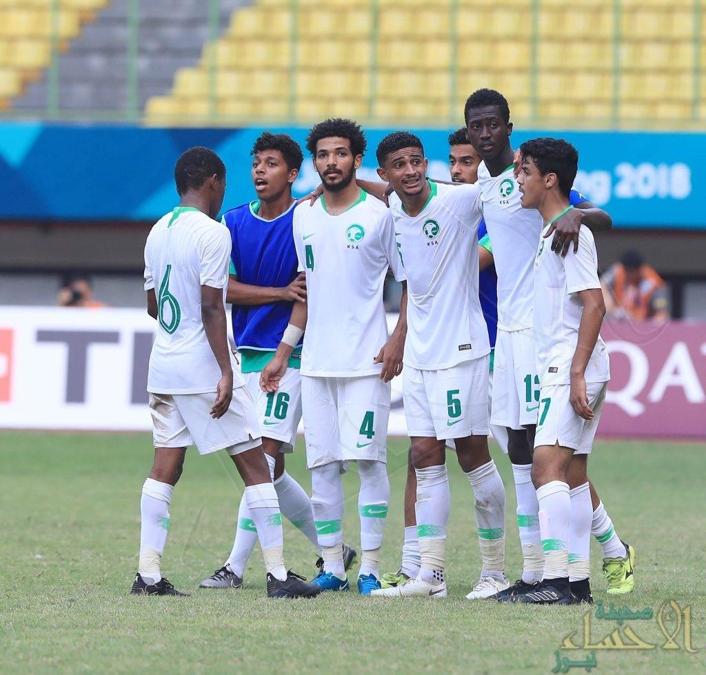 بالصور .. المنتخب السعودي يتغلب على الصين ويتأهل لربع نهائي دورة الألعاب الآسيوية