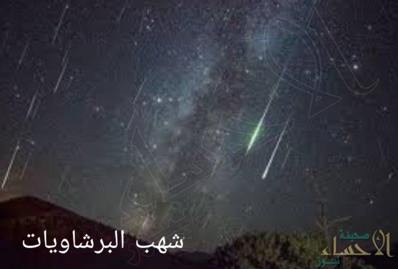 """في ظاهرة فلكية فريدة من نوعها.. السماء تتزين بـ""""شهب البرشاويات"""" الليلة"""