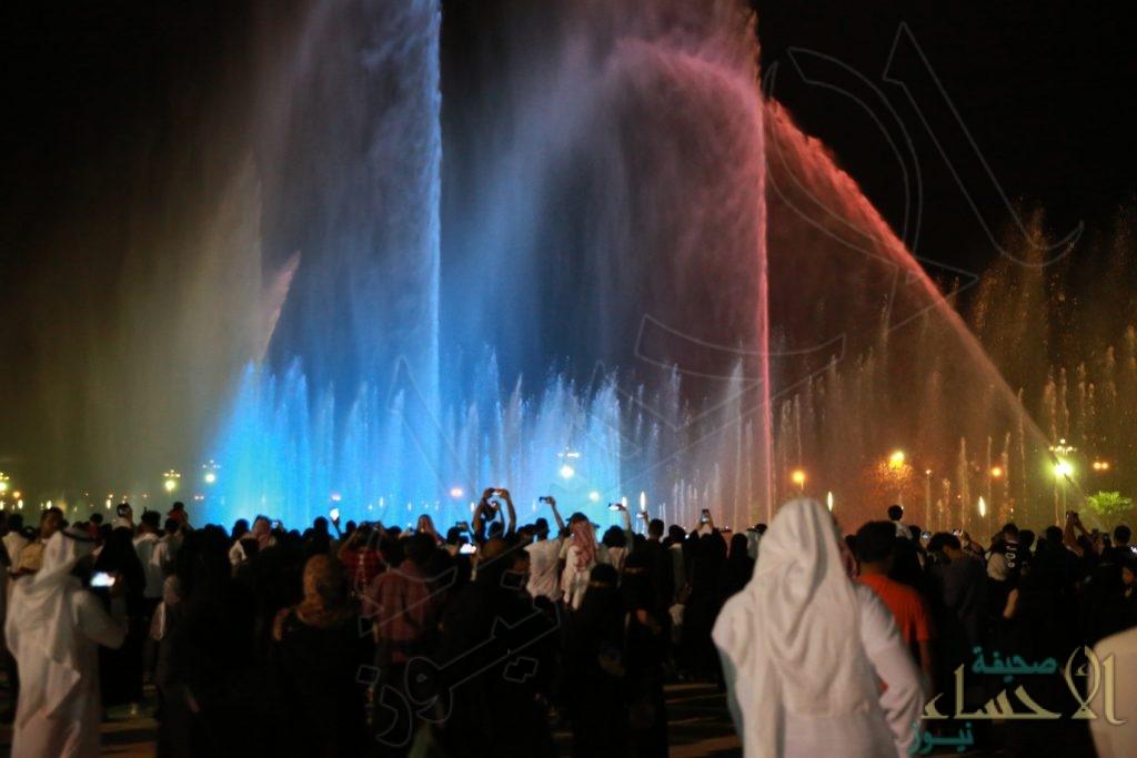 """بالصور.. 30 ألف زائر لفعاليات عيدية احتفالاً بـ""""عيد الأضحى"""" في منتزه الملك عبدالله البيئي"""