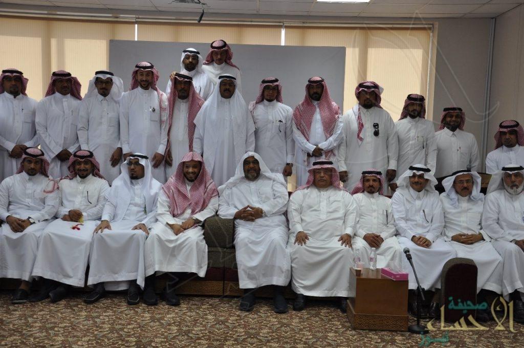 """إدارة """"المساجد والدعوة"""" بالأحساء تقيم حفل معايدة لمنسوبيها"""