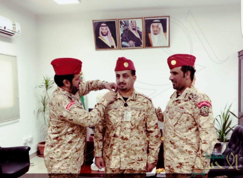 """""""علي الدوسري"""" إلى رتبة عقيد بـ""""الشرطة العسكرية"""" للحرس الوطني"""